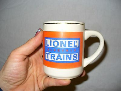 Vintage LIONEL ELECTRIC TRAINS Stoneware Coffee Cup - USA