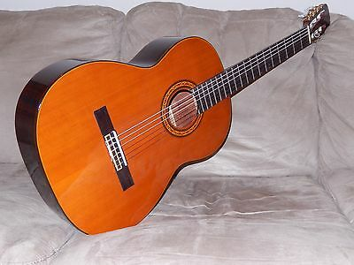 Hand Made In Japan Great Vintage Suzuki C200 Classical Guitar In Mint Condition