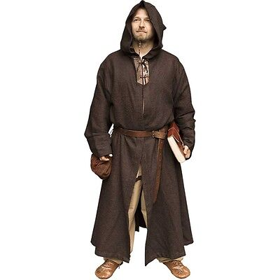 Benedict Robes, Size Small, Brown, Fantasy, Medieval, LARP, COSPLAY,