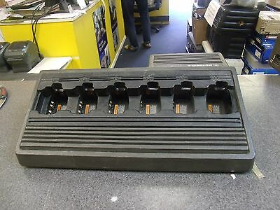 Motorola 6 Gang / Slot Charger - HTN9005C for Radios HTN 9005C B13 QTY AVAILABLE