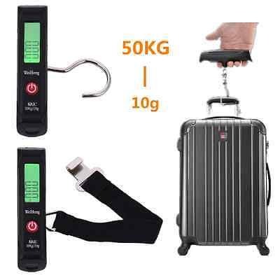 LCD Hanging Digital Scales Weight Scales for Shopping Fishing Express Luggage