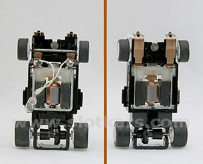 Tomy AFX 1 Chassis complet neuf Turbo pour Voitures avec éclairage