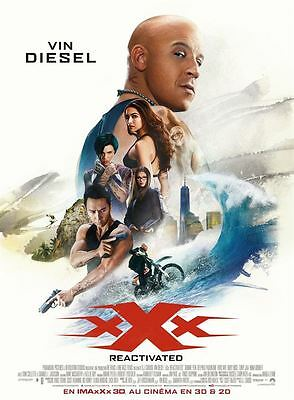 xXx : Reactivated - Affiche Poster cinema Neuve