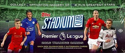 2016 Topps Stadium Club Premier League Soccer Box Blowout Cards