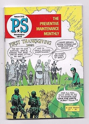 1978 ARMY PS MAGAZINE Preventive Maintenance Monthly Issue 312