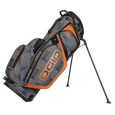 OGIO SILENCER STAND GOLF BAG -14 WAY TOP w/ 7 POCKETS NEW
