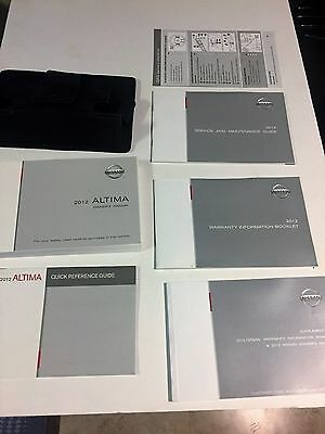 2012 Nissan Altima Owners Manual