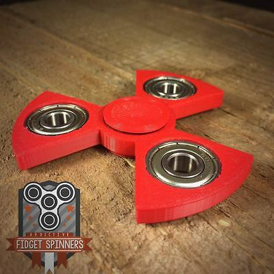 EDC Spinner Radioactive Bar Fidget Toy with Caps