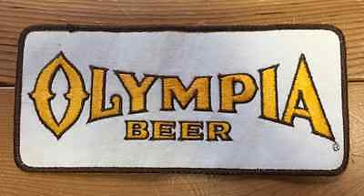 Rare 1970's Olympia Oly Beer Sew On Employee Uniform Sew On Jacket Patch Crest