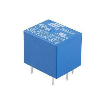 RELAY 12V SRD-12VDC-SL-C T73-12V SONGLE Power Relay NEW UK Stick UK Seller