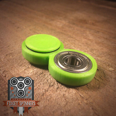 EDC Wobbler Spinner Fidget Toy with Caps