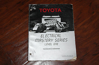 Toyota Electrical Mastery Series Level One Technicians Workbook