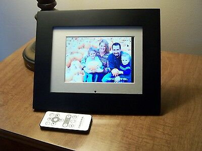 """Pandigital 6"""" LCD Digital Photo Frame with Full Function Remote Control"""