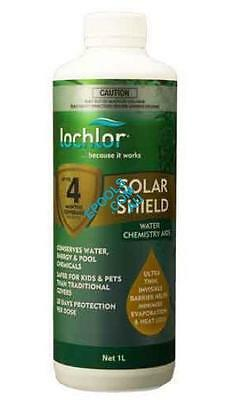 LoChlor Solar Shield Swimming Pool Thermal Liquid Blanket 1lt 4-Months Supply