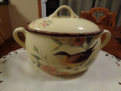 Celebrating Home Somerset Song Bean Pot With Lid