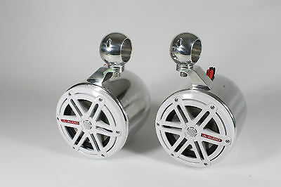 """JL Audio 7.7"""" Marine Wakeboard Tower Speakers & Cans-NEW!"""