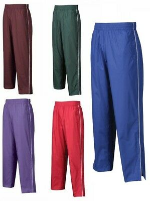 Mens Warm Up Pants, Leg Zippers, Wind/water Resistant, Pockets, Mesh Lined S-4Xl
