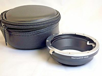 Mamiya 645 Sekor-C N  Lens to Canon EOS EF Camera mount adapter Ring EF-S