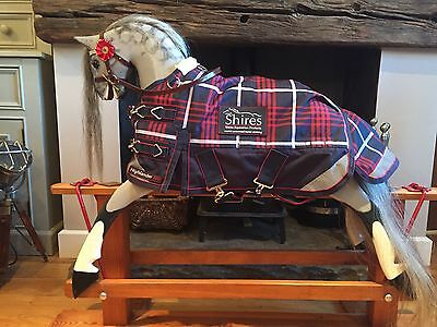 Traditional Wooden Vintage Collinson Rocking Horse Childs Christmas Gift Present