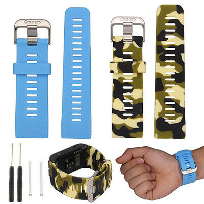 Sports Silicone Watch Band Strap With Tool For Garmin Vivoactive HR Smart Watch
