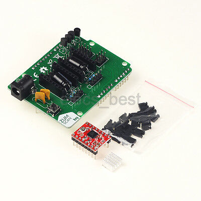 Scanner Shield Board Ciclop Expansion /w A4988 Driver Board Kits for 3D Printer
