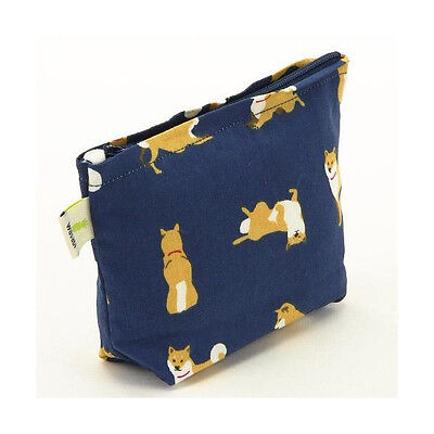 Shiba dog inu tissue pouch coin case Japanese dog goods NEW