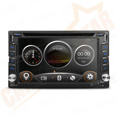 "In Dash 2 DIN 6.2"" Touch Screen Car DVD Player Radio Stereo Bluetooth GPS Navi"