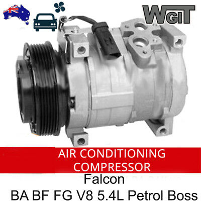 Ford Falcon Air Conditioning Compressor For  Ba Baii Bf Bfii V8 5.4L