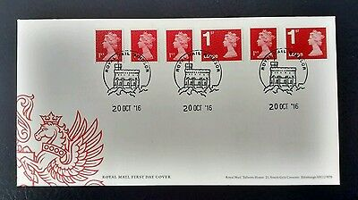 2016 New Dark Red Machin 4 1st, 2 1st Large with different source Codes FDC M16L