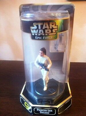 Princess Leia Organa,6inch Action Figure,Epic Force,Star Wars,Kenner 1996