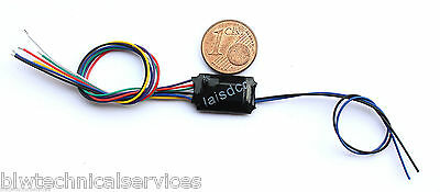 Laisdcc 4 function output only dcc decoder - ideal for lighting & signals