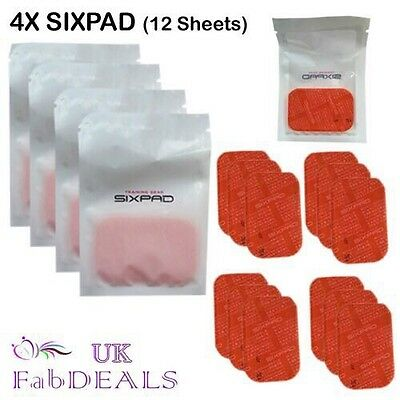 Sixpad Mtg Gel Pad Abs Training Gear Sheet Replacement Mtg 4 Pack Deal