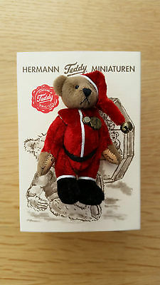 Teddy Hermann Miniature Limited Christmad Bear By Lisa Lloyd BNIB