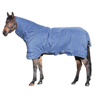 Horseware Rhino Original Turnout 0G Lightweight Navy&Light Blue 5'6-7'3 AABA91