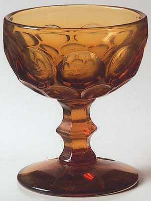 Imperial Glass Ohio PROVINCIAL AMBER Champagne Sherbet Glass 237603