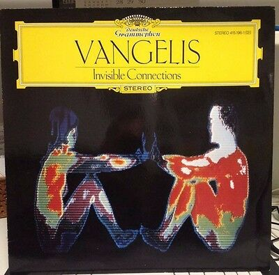 VANGELIS - Invisible Connections - lp 33 gg