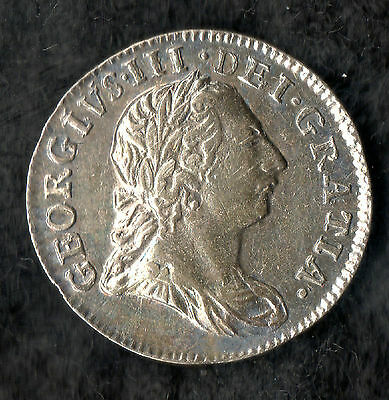 George III Maundy Twopence Silver 1772