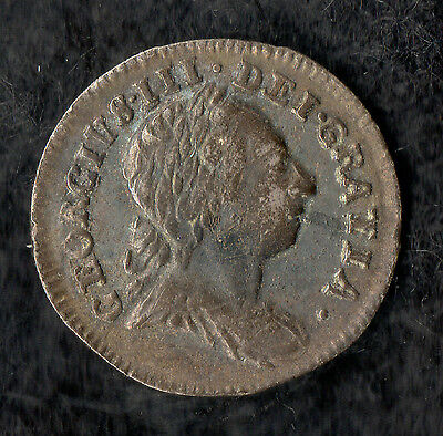 George III Maundy Penny Silver 1770