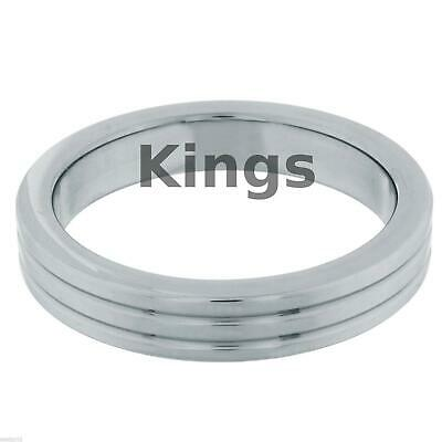 Stainless Steel Metal Penis Ring 3 Size 40 45 50mm Impotence Sex Aid Love Ring