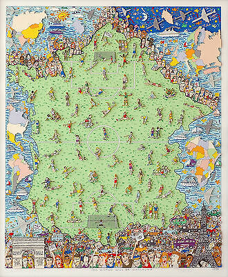 "James Rizzi - ""The world will be watching"" - 1998"