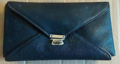 vintage NAIL CARE MANICURE SET   in  LEATHER POUCH    1920s ?