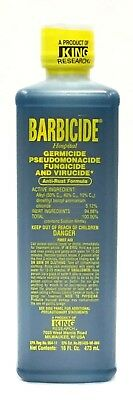 Barbicide Salon Barber Professional Disinfectant Solution 473 ml / 16 Oz.