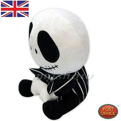 Cute Nightmare Before Christmas Jack Skellington Plush Soft Toy Doll Xmas Gifts