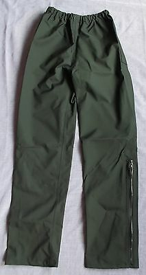 "Waterproof Overtrousers - Black - Top Quality - XSmall Size - 22""-28"" Waist NEW"