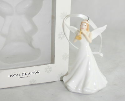 Royal Doulton Christmas Ornament Fanfare Angel NIB