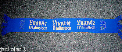 Yngwie Malmsteen heavy metal band Fire & Ice 1992 tour concert scarf Winterland
