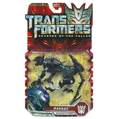 Transformers 2 Revenge of the Fallen Deluxe Action Figure – Ravage unopened toy