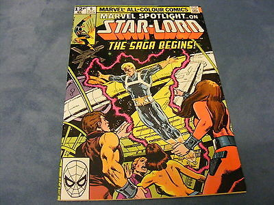 Marvel Spotlight #6 1st Comic Appearance of Star Lord Guardians of the Galaxy