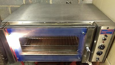 Eurofours SINGLE PHASE 2 Tray Bake Off Convection Oven 4.5kW +Steam +1Y Warranty