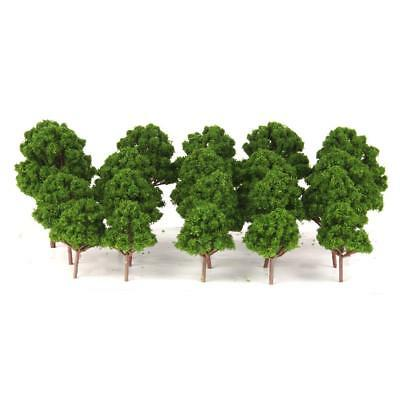 20 Mix Lot Branched Tree Models for Train Railway Wargame Scenery HO N Scale